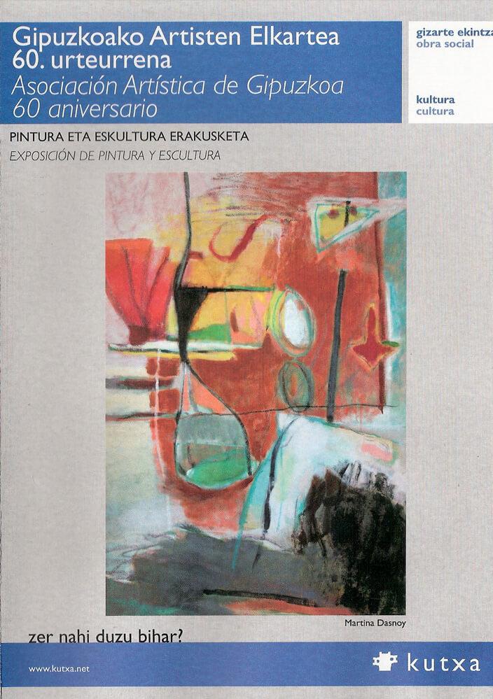 cartel exposición 60 aniversario Asocia